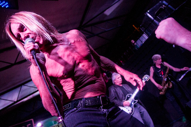 Pictured: Iggy Pop, performing with The Stooges at SXSW 2013. Photo by Andrew Wade.