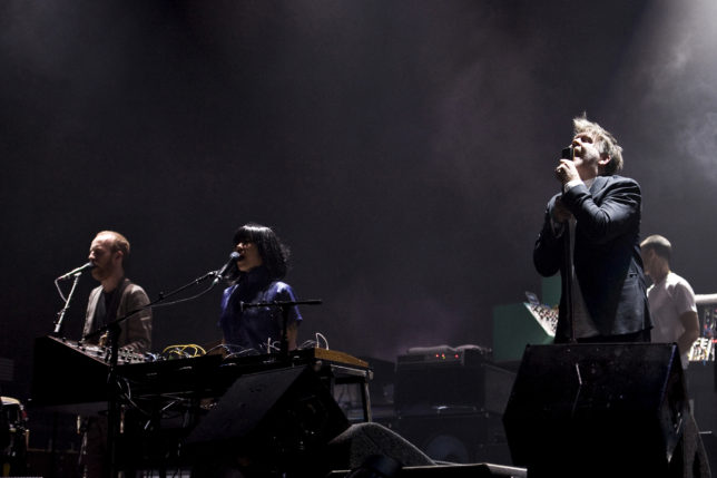 LCD Soundsystem. Photo by Eric Pamies for Primavera Sound.