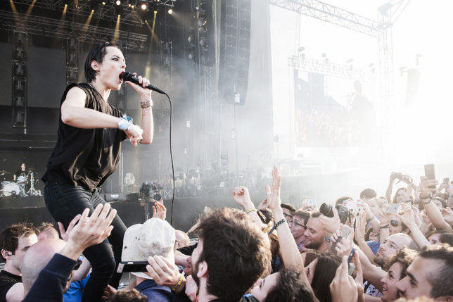 Savages. Photo by Eric Pamies for Primavera Sound.