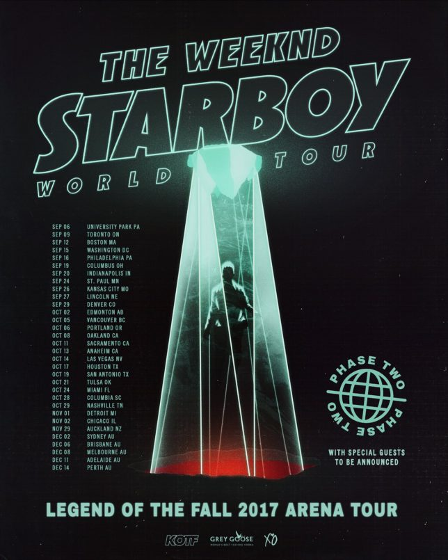 Starboy World Tour Review